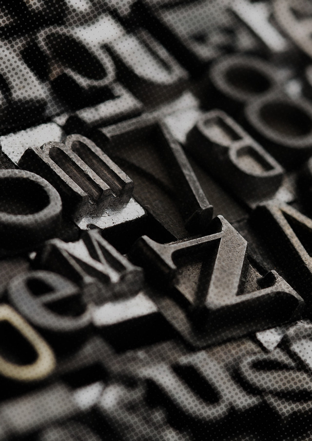 Euro Style Process typography