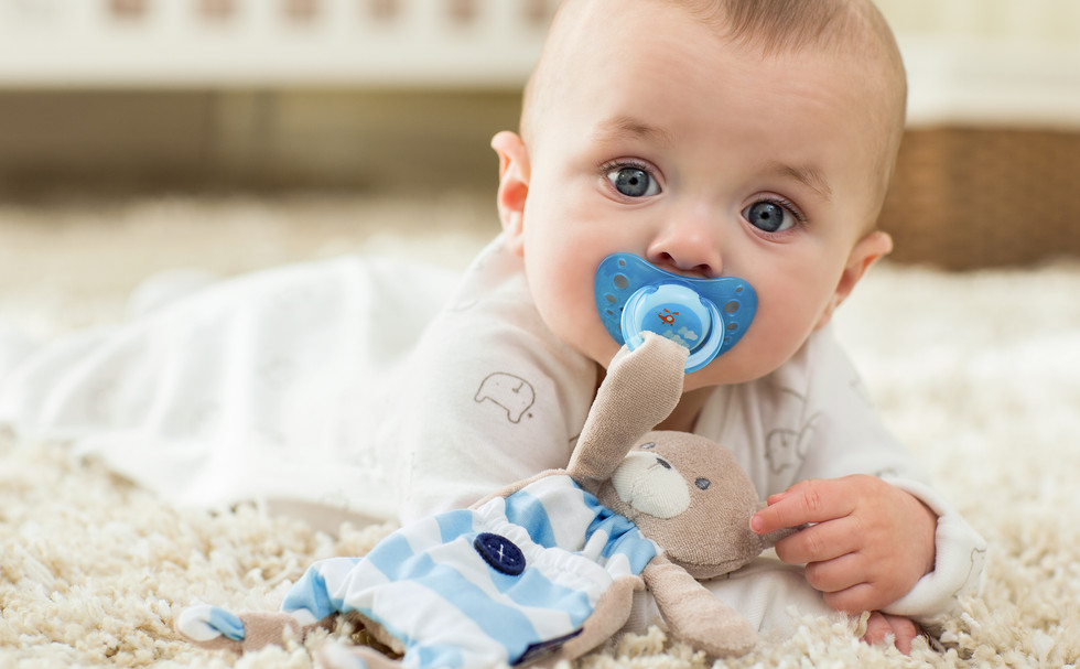 Chicco Pacifier photography