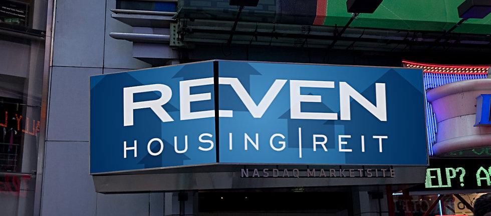 Reven Capital NASDAQ video marquee