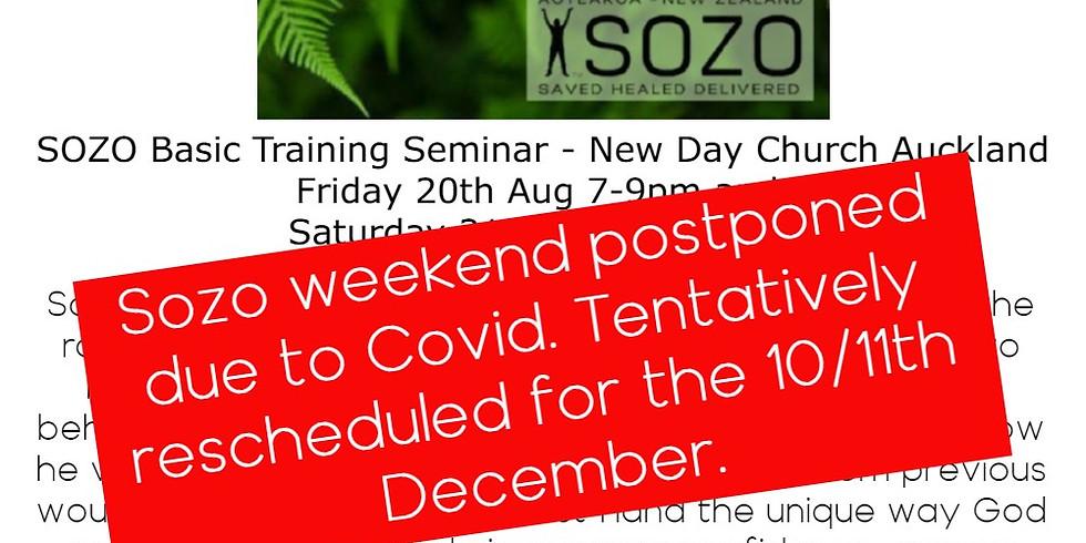 Sozo Basic Training Seminar