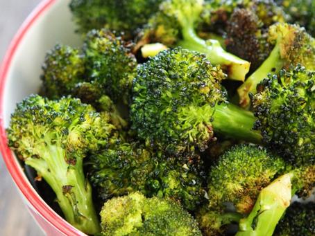 Chopping Broccoli!!