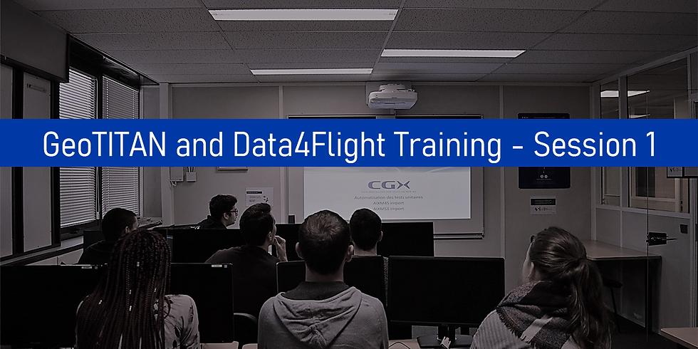 GeoTITAN and Data4Flight Training - Session 1