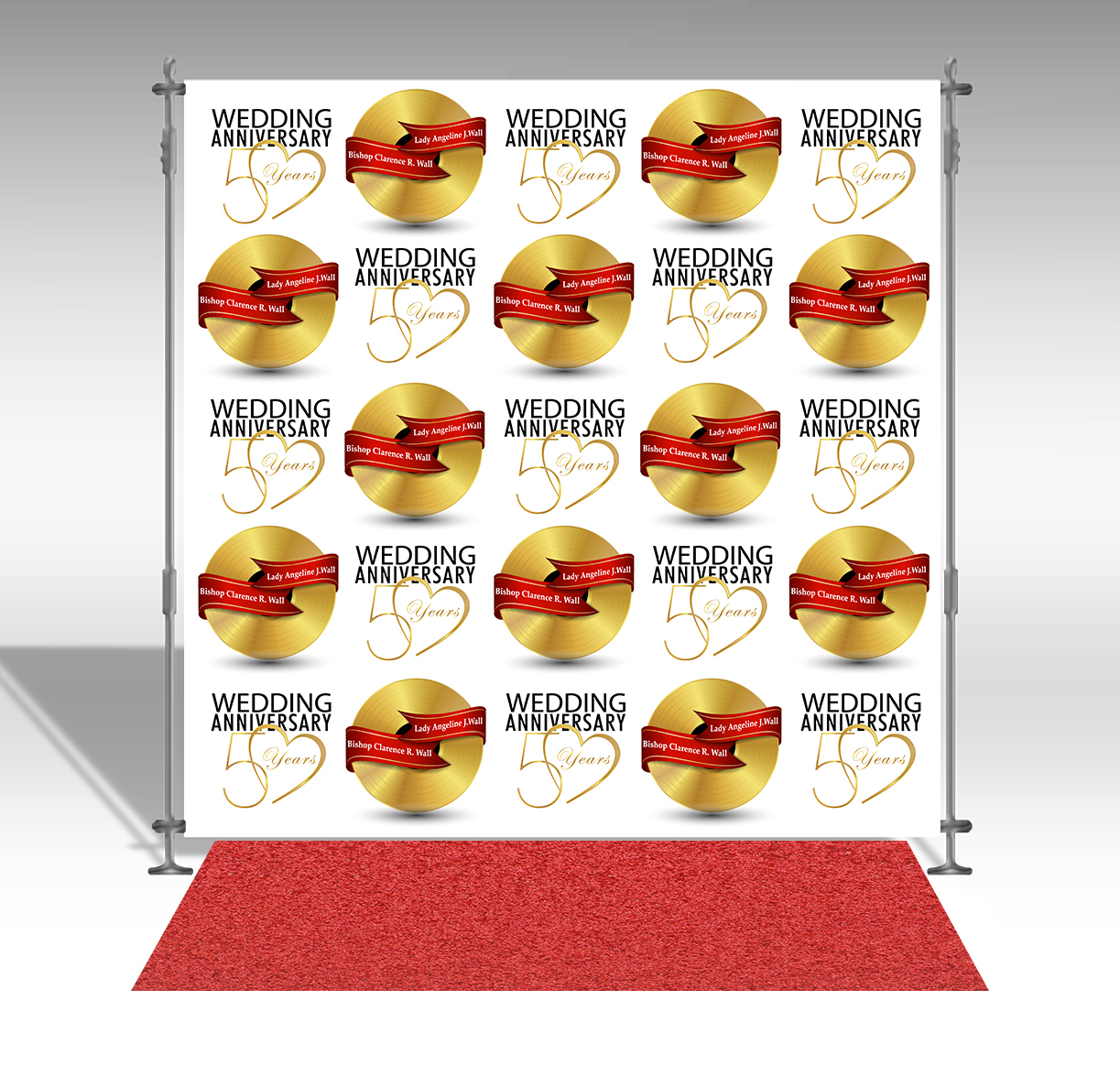 Step & Repeat Backdrop banner