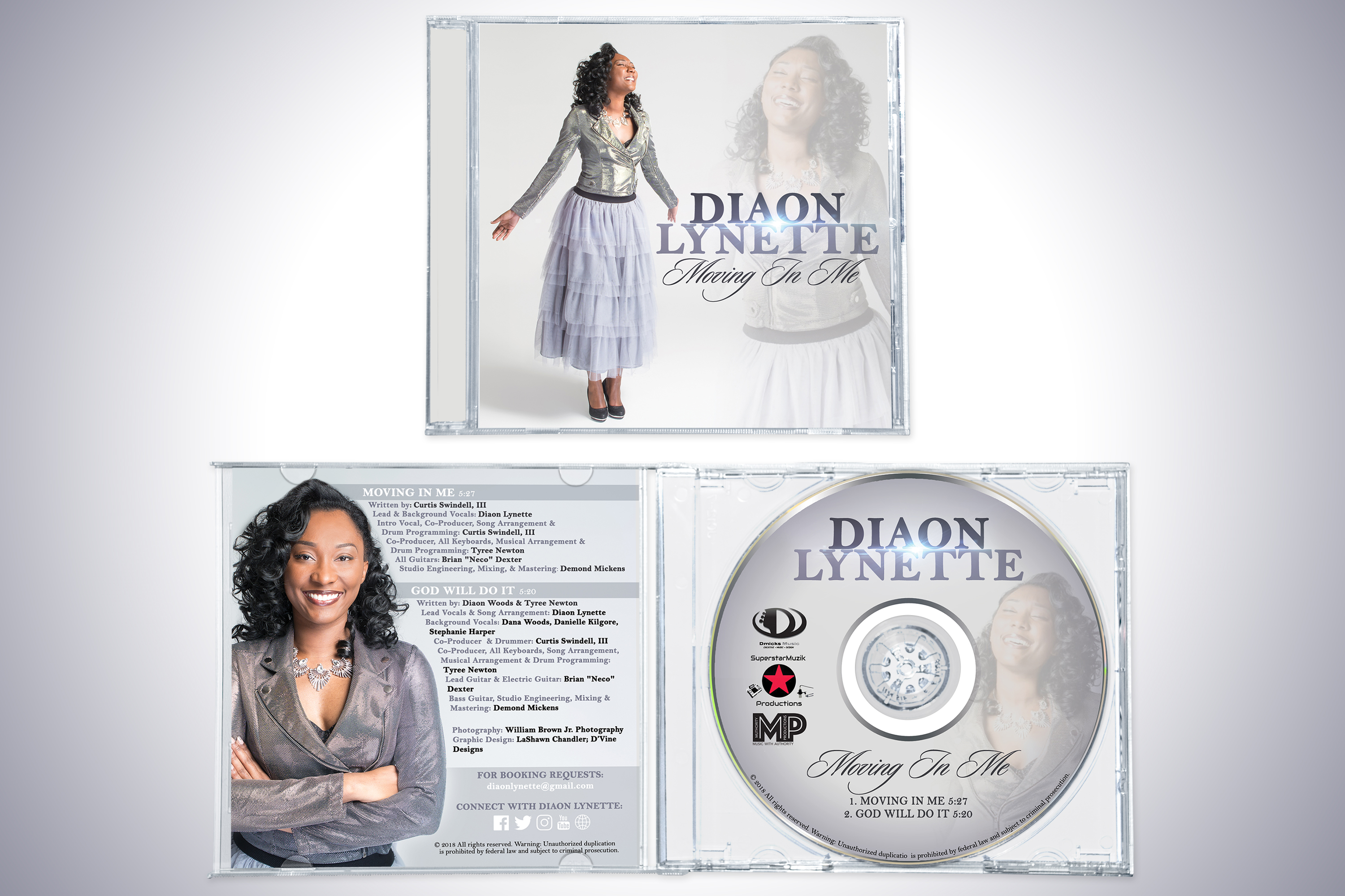 Full CD package design