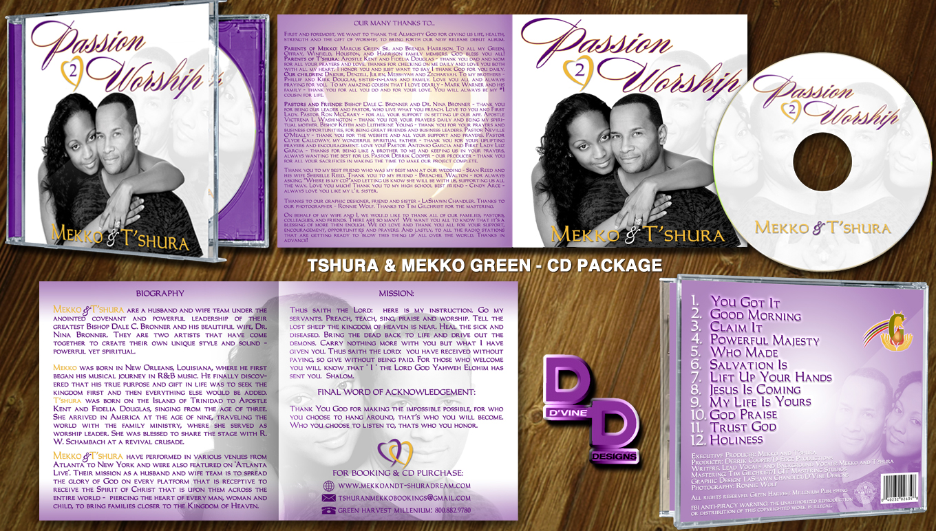 CD Package Artwork