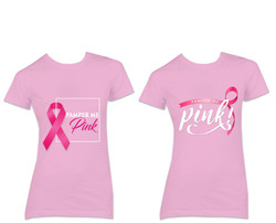 Breast Cancer t-shirt artwork