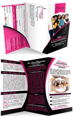 Program Brochure Pamphlet