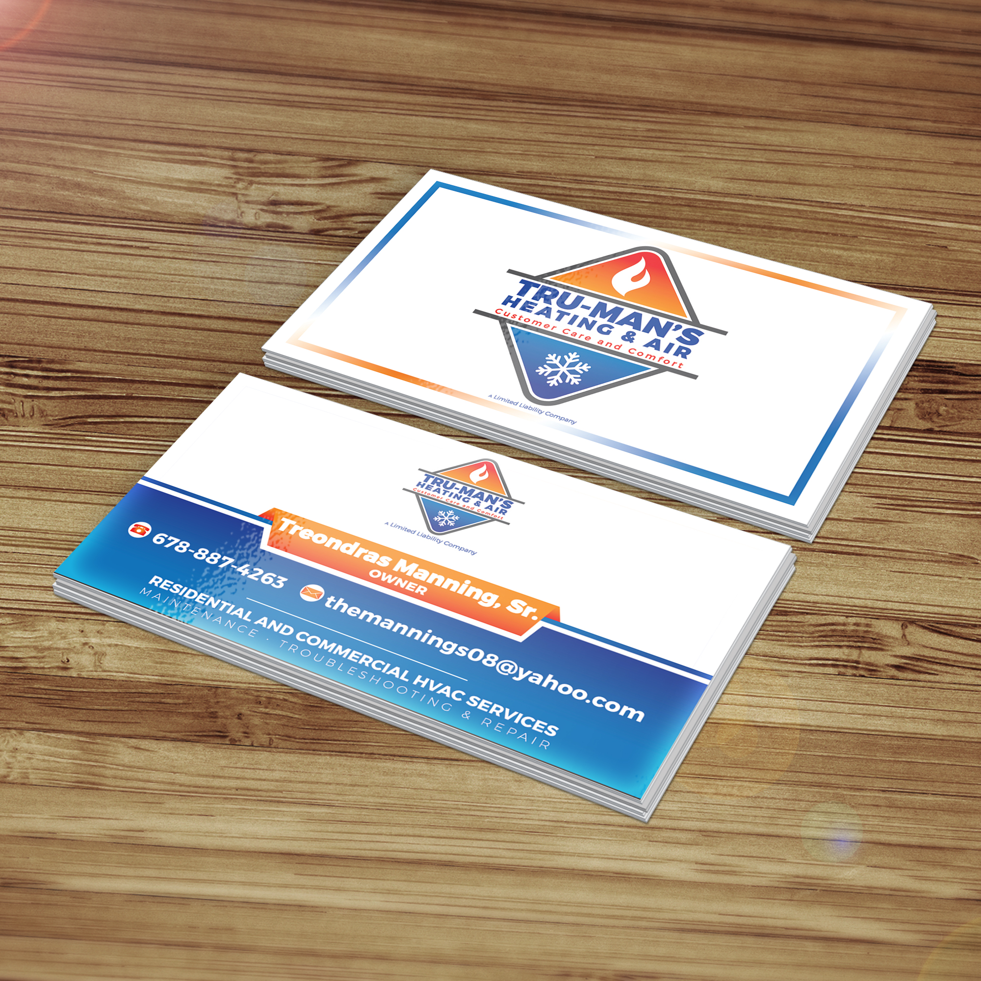 Custom logo/ business cards