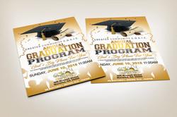 Graduation program cover