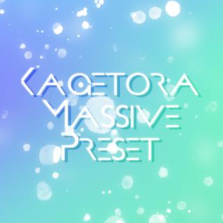 「Kagetora Massive Preset」販売のお知らせ