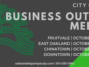 City of Oakland Disparity Study