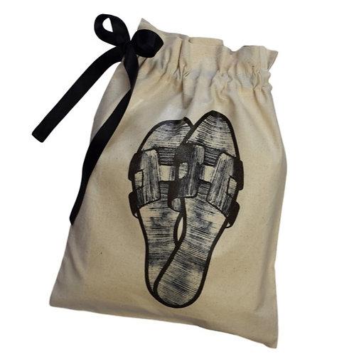 Flat Sandals Shoe Organising Bag