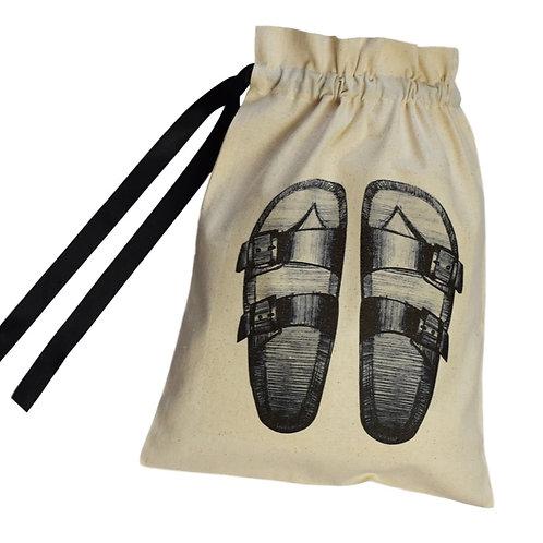 Two Strap Sandals Shoe Organising Bag