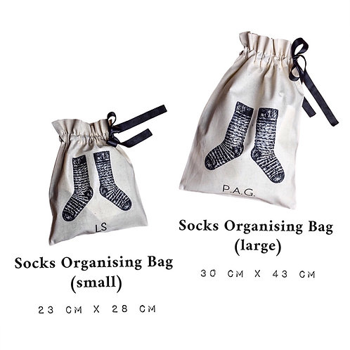 Socks Organising Bag II - Large