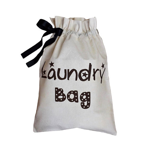 Kids' Laundry Organising Bag - Stars