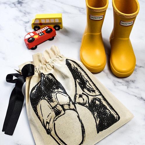 Kids' Shoe Organising Bag