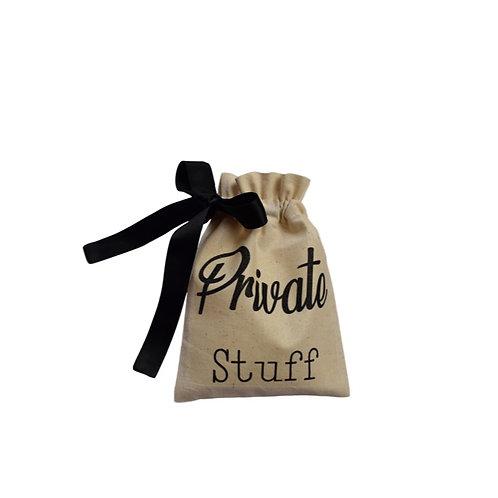 """""""Private Stuff"""" Organising Bag"""