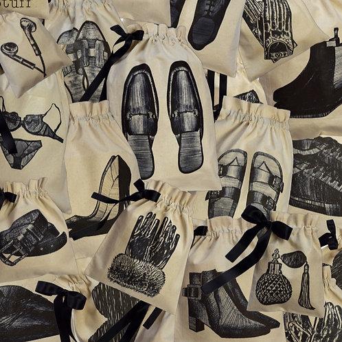 Leather Slipper Shoe Organising Bag