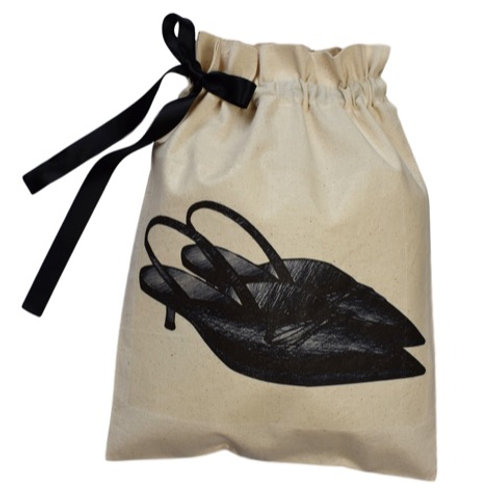 Kitten Heel Mules Shoe Organising Bag
