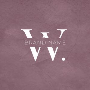 W logo - logomaker