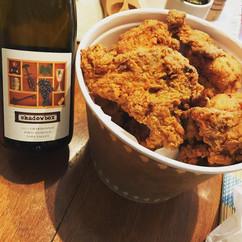 Shadowbox Chardonnay and Fried Chicken