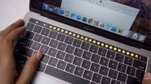 New Apple MacBook Pro With Touch Bar