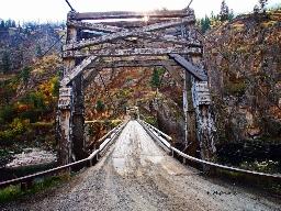 Manning Crevice Bridge by Frank Mignerey