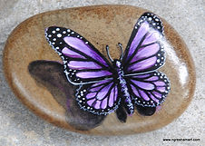 butterflies,butterfly art,handpainted rocks butterflies,garden decor,unique gifts