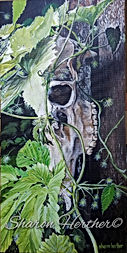 elk & hops watercolor prints