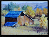 acrylic painting,original art,barn,farm