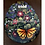 Thumbnail: Painted rock flowers and butterfly