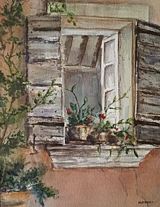 Rebecca's Window 9x12