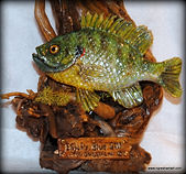 polymer clay sculptures fish