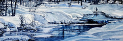 Lake Fork Winter by Sharon Herther