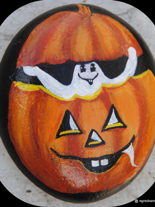 halloween rocks,halloween decor,ghosts,pumpkins