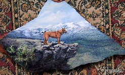 pet portraits on stone,hand painted rocks,dogs,dog portraits
