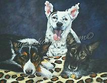 pet portraits,original art,dog portraits,furbabies