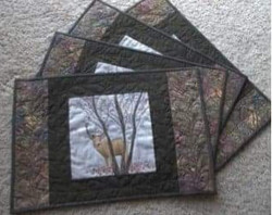 custom place mats by Cathy Little