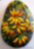 handpainted rocks,Spring flowers,daisies,forgetmenots,painted river stones,valentines day gifts