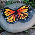 handpainted rocks,butterflies,lilies,hand painted rocks for sale
