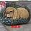 Thumbnail: handpainted rocks,lop ear bunny,roses,butterflies