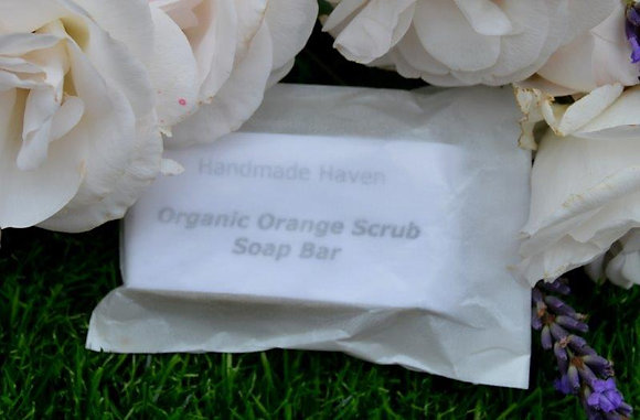 Organic Orange Scrub Soap