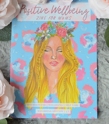Positive Wellbeing Zine - Wellbeing (for gift box)