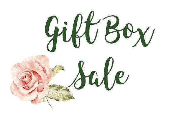 SALE gift box