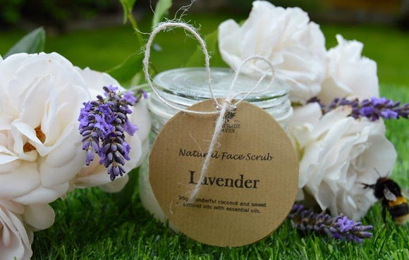 Natural Face Scrub - Lavender