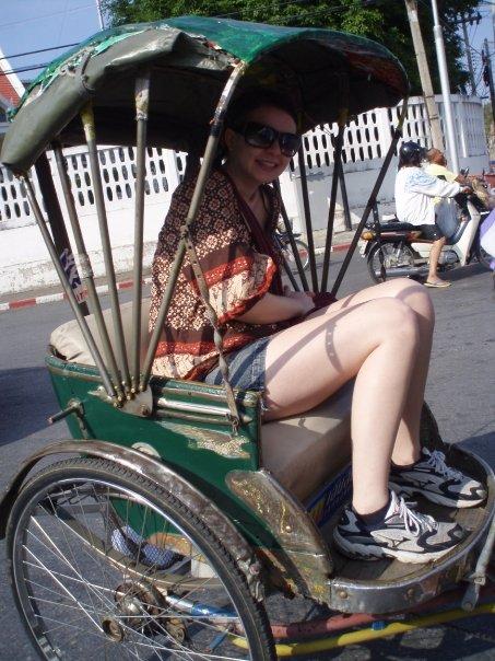 In a TukTuk, Thailand