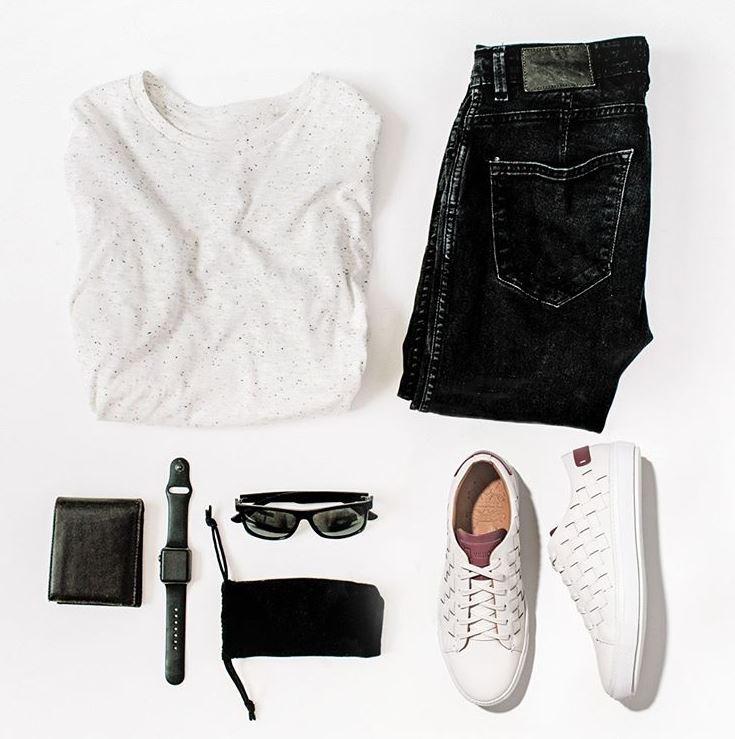 Não adianta seguir tendências que não combinem com o seu estilo. Detalhe: Sneaker Masculino Ferdinand White Villione