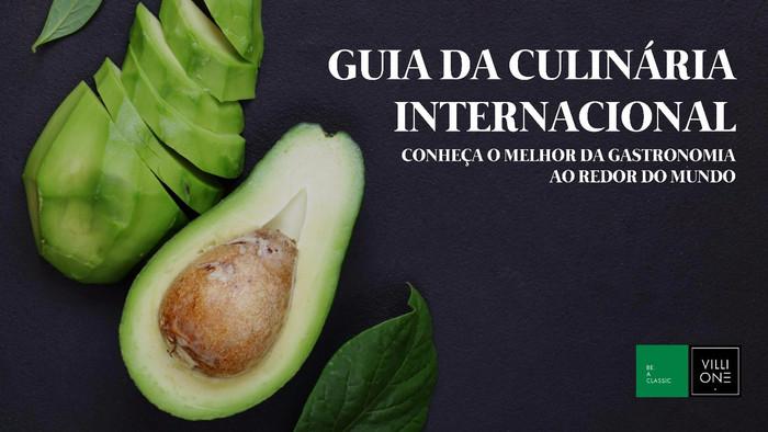 Guia da Culinária Internacional