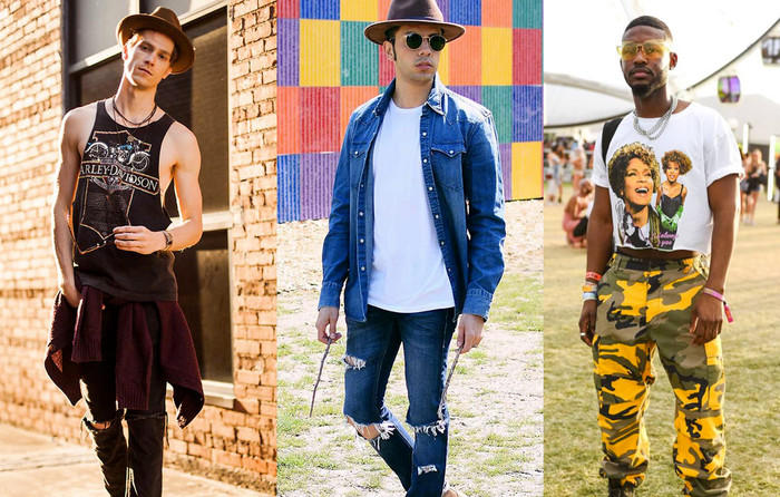 Coachella looks: Boots ou sneakers?