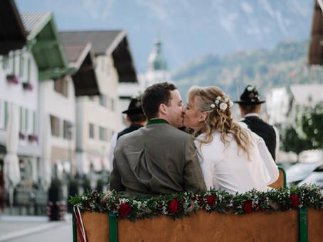 Herbstliche Hochzeit in Kuchl - Anneliese & Stefan